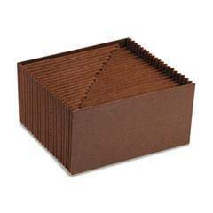 SMD70415 - Material : Leather-Like Redrope - Smead Leather-Like Expanding Files Without Flap - -