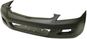 Honda Accord Sedan Bumper Cover - 2006-2007 HONDA ACCORD (4dr sedan; USA/Mexico built; prime) FRONT BUMPER COVER