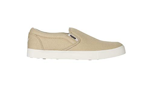 PUMA Kahala Slip-On Golf Shoes Men's 192500-01 Khaki - 10 Medium (Mens Slip On Shoes Puma)