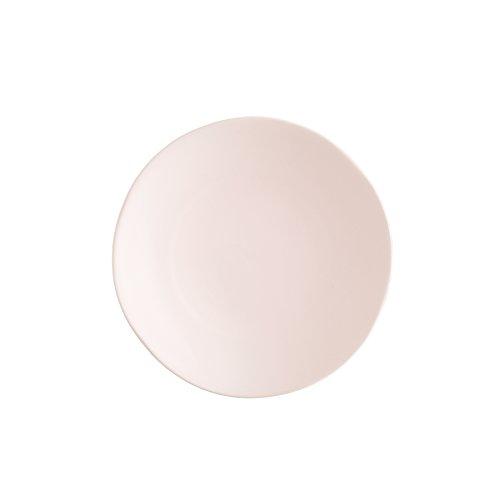 Blush Finish (Fortessa Vitraluxe Dinnerware Heirloom Matte Finish Salad Plate 8-Inch, Blush, Set of 4)