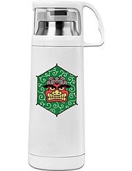 Japan Festival Red Monster Cool Thermos Vacuum Insulated Stainless Steel ()