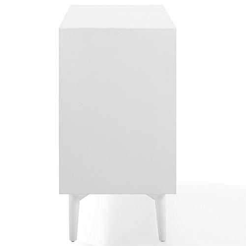 Crosley Furniture CF4403-WH Landon Mid-Century Modern Bar Cabinet, White by Crosley Furniture (Image #4)