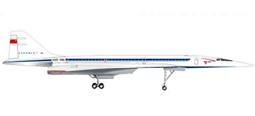 HERPA Wings 559126 Tupolev TU-144S 'CCCP-77101' 1/200 Scale Diecast Model