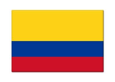 Amazon.com: Bandera de Colombia Colombia Imán para nevera ...