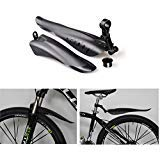 BlueSunshine Dovetail Style Adjustable Fender Bicycle Bike Cycling Front/Rear Mud Guards Mudguard Fenders Set Mountain Road fits for 24-28