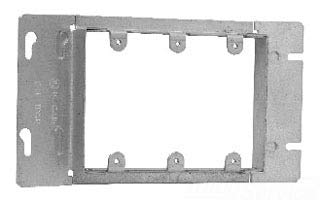 Cooper Crouse-Hinds TP653 Gang Box Cover, 3-Gang, Raised 13/16