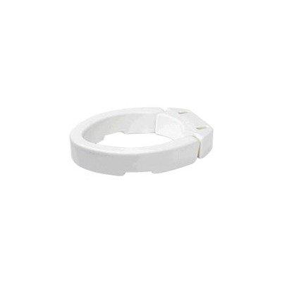 - RMB32100EA - Elongated Hinged Toilet Seat Riser 3-1/2