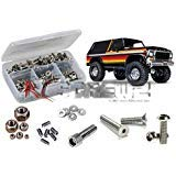 RCScrewZ Traxxas TRX-4 Bronco/Ranger Stainless Steel Screw Kit (350+ Pieces) - tra085 - for Traxxas Kit 82046-4 (Piece 4 Bronco)