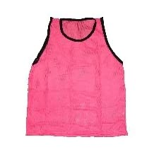 Workoutz Scrimmage Vest (Adult Size, Single) For Soccer Lacrosse Mesh Pinnie Training Practice