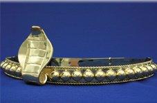 Egyptian Cobra Headband- Gold-Womens (Marc Antony Cleopatra Costumes)