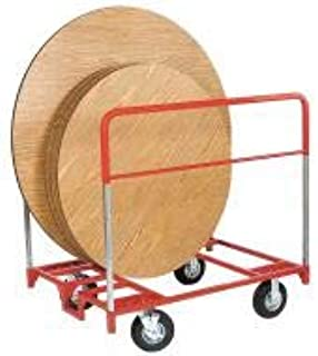 """product image for Raymond Products 48""""L x 36""""W x 50-3/4""""H Red Table Mover, 1000 lb. Load Capacity - 3753"""