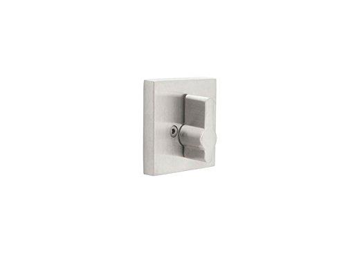 Emtek Stainless Steel Single Sided Deadbolt Locks 2 Rosette Style Options (Square)