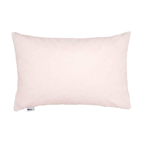 Kingnex Queen Size Latex Foam Pillow Talalay Adjustable Shredded Bed Pillow with Removable Bamboo Cotton Cover