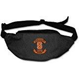 AUSIN Unisex Syracuse University Football Traveling Waist Sport Belt Bag Black]()