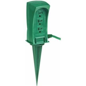 Outdoor Power Stake - Or Woodburn Outlets