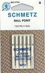 SCHMETZ Jersey (130/705H SUK) Sewing Machine Needles - Carded - Size 100/16 1799C