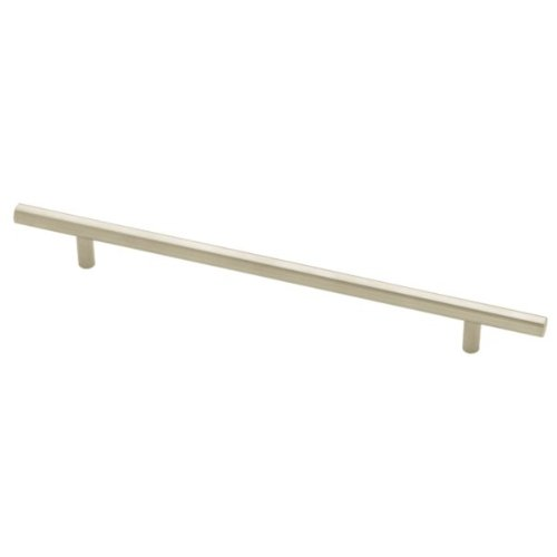 Liberty P02102-SS-C 224/304mm Flat End Cabinet Hardware Handle Bar Pull, Stainless - Bar Bauhaus Pull