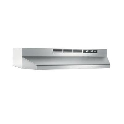 NuTone RL6200 24 in. Non-Vented Range Hood in Stainless S...