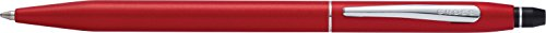 Cross Click Crimson Lacquer Ballpoint Pen with Chrome Appointments