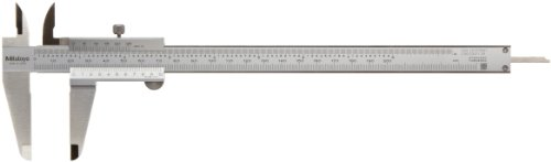 Mitutoyo 530-118 Vernier Calipers, Stainless Steel, for Inside, Outside, Depth and Step Measurements, Metric, 0 inch/0mm-200mm Range, -0.03mm Accuracy, 0.02mm Resolution, 50mm Jaw Depth Price & Reviews