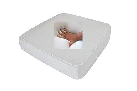 Gel/Espuma de Gel incontinencia Asiento Cojín Anti decúbito Asiento Acolchado 40 x 40 x