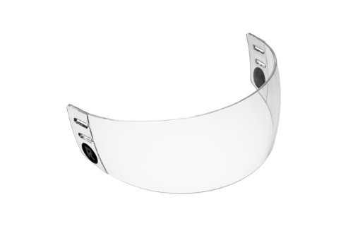 Ronin (TM) R2 Straight-Cut Hockey Visor (Cut Half Shield)