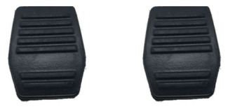 2PCS Brake and Clutch Pedal Pad for FORD MONDEO \TRANSIT\FOCUS