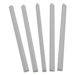 C-Line Slide N Grip Binding Bars, White, 11 x 1/2, 100/Box by C-Line