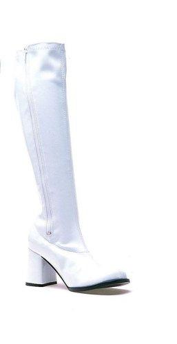 (Ellie Shoes Women's Gogo Rain Boot, White, 6 M)