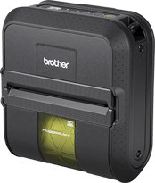 Brother RuggedJet RJ4030-K Direct Thermal Printer – Monochrome – Mobile – Label Print