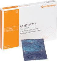 - Acticoat Seven Day Antimicrobial Barrier Dressing 2