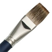 Royal Sabletek Long Handle Flat 44 - Artist Paint Brush - L95590-44 - Single
