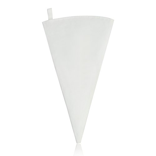 New Star Foodservice 37685 Commercial Grade Plastic Coated Canvas Pastry Bag, 12-Inch (Bag Decorating Plastic Coated)