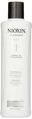 Nioxin System 1 Cleanser - Nioxin Cleanser Shampoo System 1 for Fine Hair with Light Thinning, 10.1 Ounce