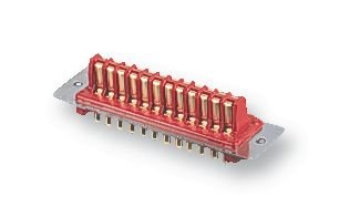 ITW MCMURDO RP16 RECTANGULAR POWER CONNECTOR, PLUG, 2 POSITION