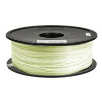 Inland 1.75mm Glow In The Dark PLA 3D Printer Filament - 1kg Spool (2.2 lbs) by Inland