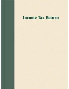 Income Tax Return Folder - Prestigious (Cream/Green)