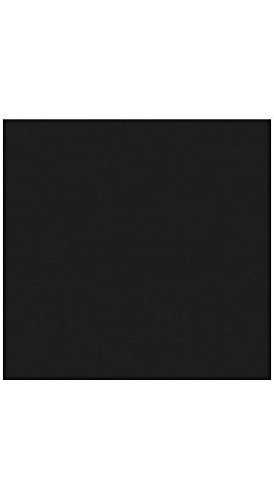 12 x 12 Paper - Midnight Black (50 Qty.) by Envelopes.com