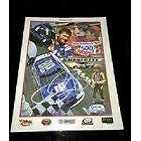 $235 » DALE EARNHARDT JR autograph signed October 2017 Final Charlotte race program JSA - Autographed NASCAR Miscellaneous Items