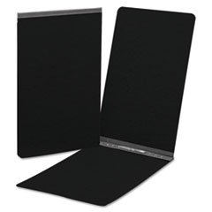 5COU End Opening Pressboard Report Cover, Prong Fastener, Legal, Black
