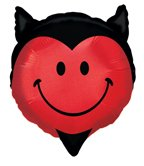 Valentine Day Balloon - Hottie Devil Hot Stuff Shape 23
