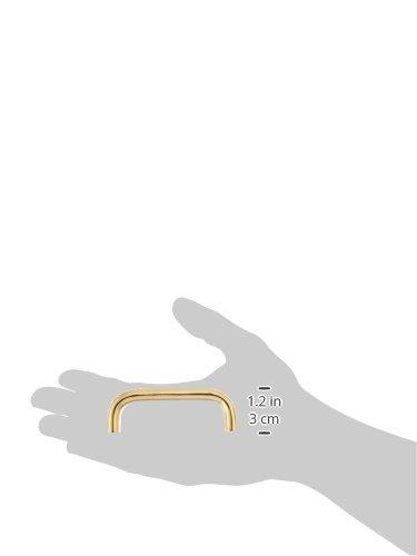 Deltana K136U15 3-Inch Center to Center Solid Brass Wide Wire Pull