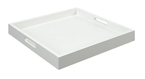Convenience Concepts Palm Beach Serving Tray, White
