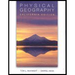 img - for Physical Geography: California Ed (W/CD) book / textbook / text book
