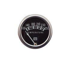 "82210-72 Stewart Warner Gauge Standard Temp 100-250° F 2 1//32/"" Mech Black"