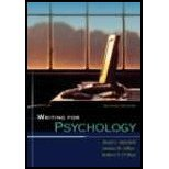 Writing for Psychology by Mitchell,Mark L.; Jolley,Janina M.; O'Shea,Robert P.. [2007,2nd Edition.] Paperback PDF