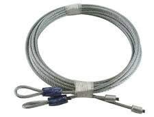 Compatible Garage Door Cables for Torsion Spring Doors 7' Clopay Wayne Dalton CHI