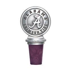 Alabama Crimson Tide Pewter Wine Stopper