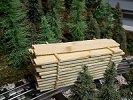 Model Railroad O Gauge Lumber Pile (Railroad O Gauge)