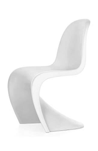 panton chair,sedia panton Chair, inpilabile,realizzata con un solo ...